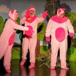A három kismalac és a ViccesFarkas - mesejáték, gyermekprogram a Center Színházban | Center Színház