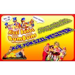 Ricsi Bohóc és a BumBum - gyerekkoncert, gyermekprogram a Center Színházban | Center Színház