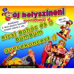 Ricsi Bohóc és a BumBum - gyerekkoncert, gyermekprogram a Bókay-kertben