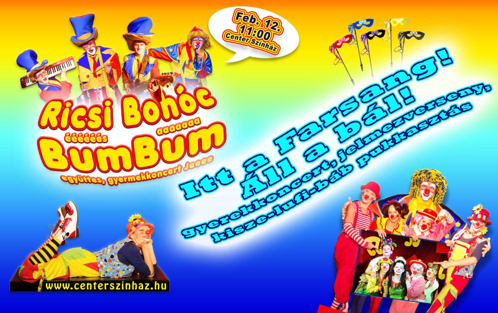 Ricsi Bohóc és a BumBum Farsang